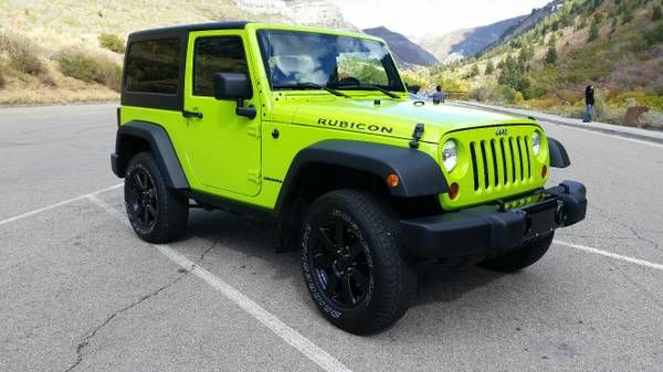 2012 Jeep Wrangler Rubicon, kept like new, must see (provo) $27950: < image 1 of 7 > 2012 Jeep Wrangler Rubicon condition:…