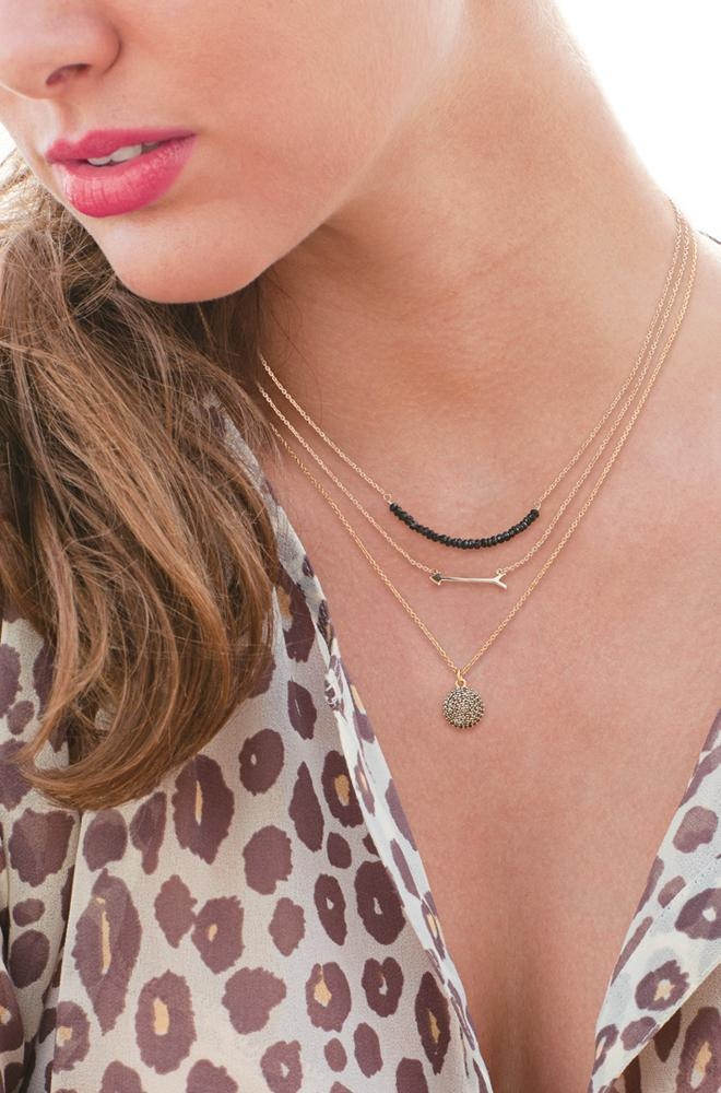 The delicate layering look with stella and dot necklaces | www.stelladot.com/suprstarsab