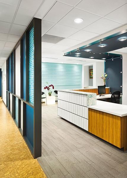 17 best images about waiting area front desk design on for Office design denver