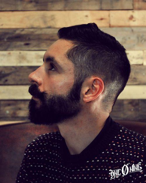 man hair cut @ one o nine tattoo & barber shop barcelona