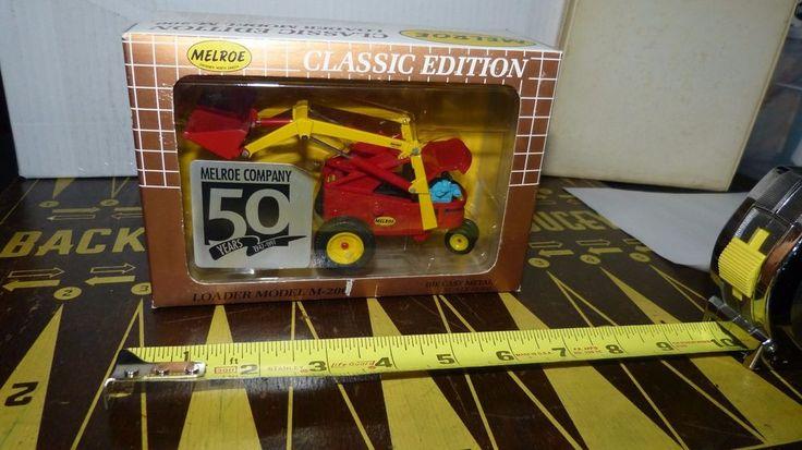 Melroe-Bobcat Classic Edition Loader Diecast Replica Model M-200 1997 NIB #MelroeBobcat #Melroe