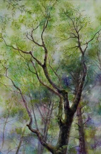 風景画ギャラリー「生きる」~水彩画インフォメーション