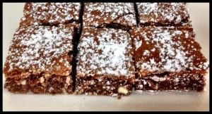 Top Deck Chocolate Slice - Bake Play Smile