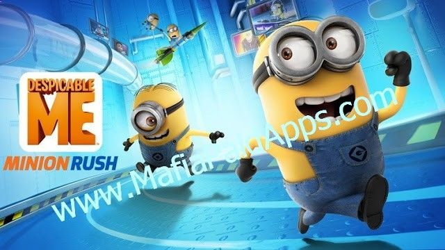 Despicable Me v4.4.1a [Mod] Apk JOIN 800 MILLION PLAYERS WORLDWIDE! Race with the Minions in award-winning fan-favorite runner Despicable Me: Minion Rush! Run as fast as you can while jumping dodging rolling and knocking Minions off the track in despicably action-packed levels. Rush to collect Bananas and play exciting Special Missions to increase your score as you enjoy unexpected Minion moments. ALL THE FUN OF DESPICABLE ME IS IN THE OFFICIAL GAME! Run and play as DAVE CARL OR JERRY!...