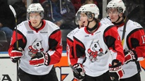 Mitchell Theoret is heating it up for the Niagara IceDogs in the OHL. Read all about it.
