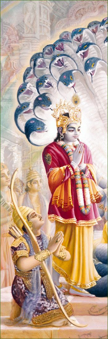 "Lord Krishna & Arjuna - major players in the Epic story Mahabarata - Chapter called the Bhavagad Gits""Song of God"" I LOVE THE GITA!!!"