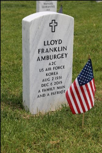 https://flic.kr/p/21Qef6J | The gravestone of country singer and songwriter Lloyd Franklin Ambergey (aka Don Chapel - the second husband of Tammy Wynette) at the Middle Tennessee State Veterans Cemetery in Nashville.