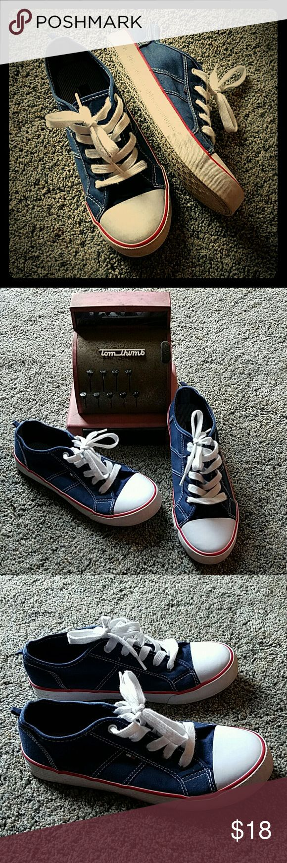 Tommy Hilfiger fashion sneakers Tommy Hilfiger fashion sneakers.     General wear, but all in good condition. Tommy Hilfiger Shoes Sneakers