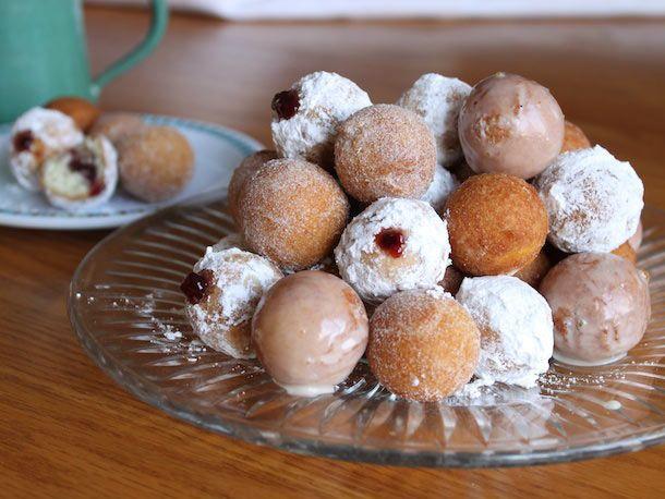 Gluten-Free Doughnut Bites   Breakfast recipes   Pinterest