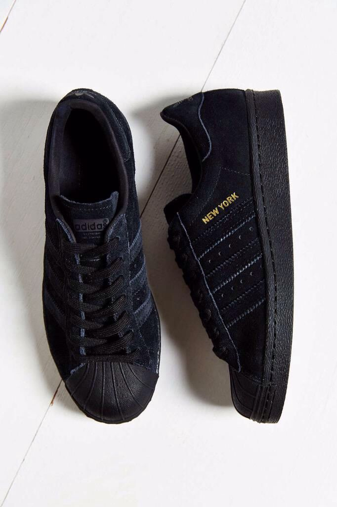 Need cute black sneaks!  Concrete | Black adidas