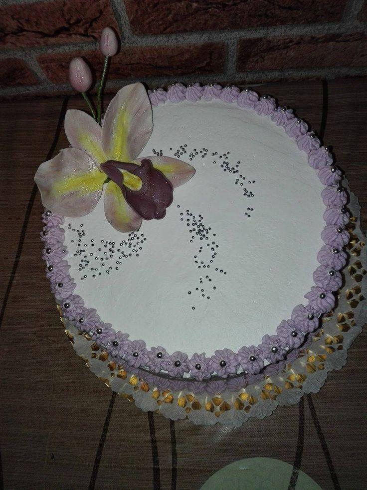Tort Orhideea