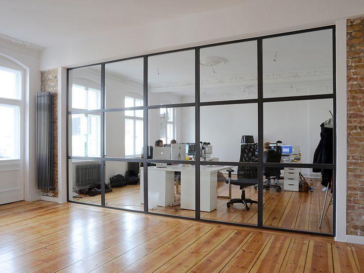 Glastrennwände Büro Plickert Glaserei Betriebe Gmbh