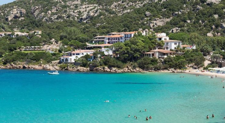 Hotel La Bisaccia Baja Sardinia Located on the Emerald Coast, this 4-star hotel is set on 50 hectares of parkland overlooking the sea. Walk down to the free private beach or to the centre of Baja Sardinia.