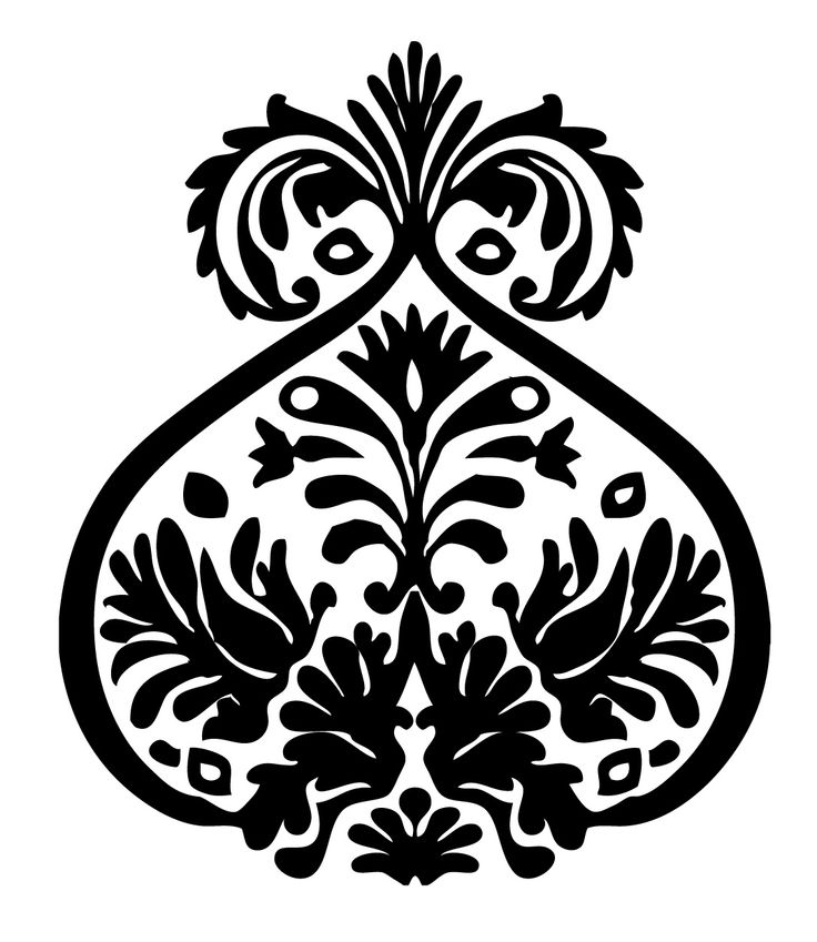 damask, ornament