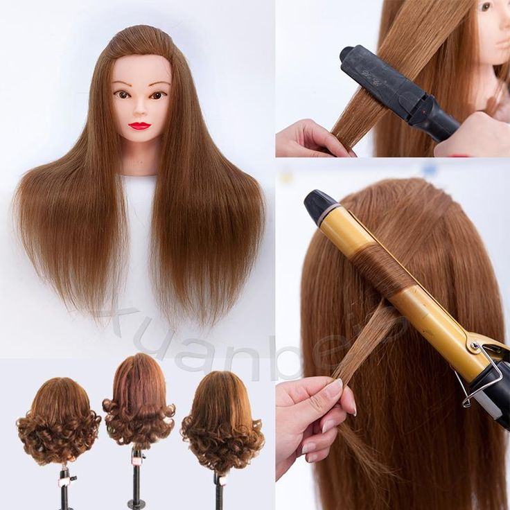 Good Quality Mannequin With Hair 70% Real Hair Training Mannequin Head For Beauty Academy cabeza de maniqui paspop Wig Head