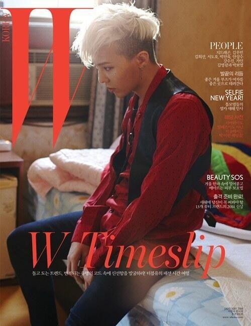 G-Dragon ♕ #BIGBANG // W Korea (January 2014)