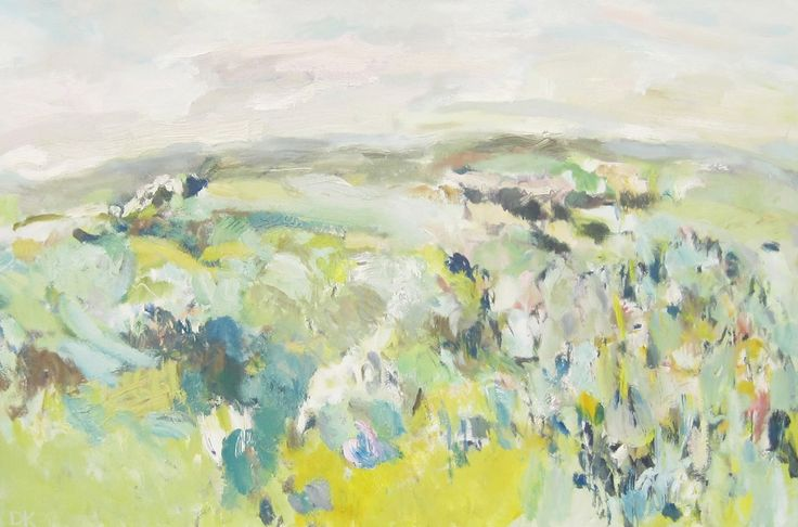 A Clear Day Oil on Canvas 80 x 100 cm £ 1,500  #Art #Paintings #Landscape