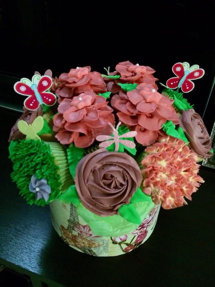 Cupcake Bouquet for a bday party
