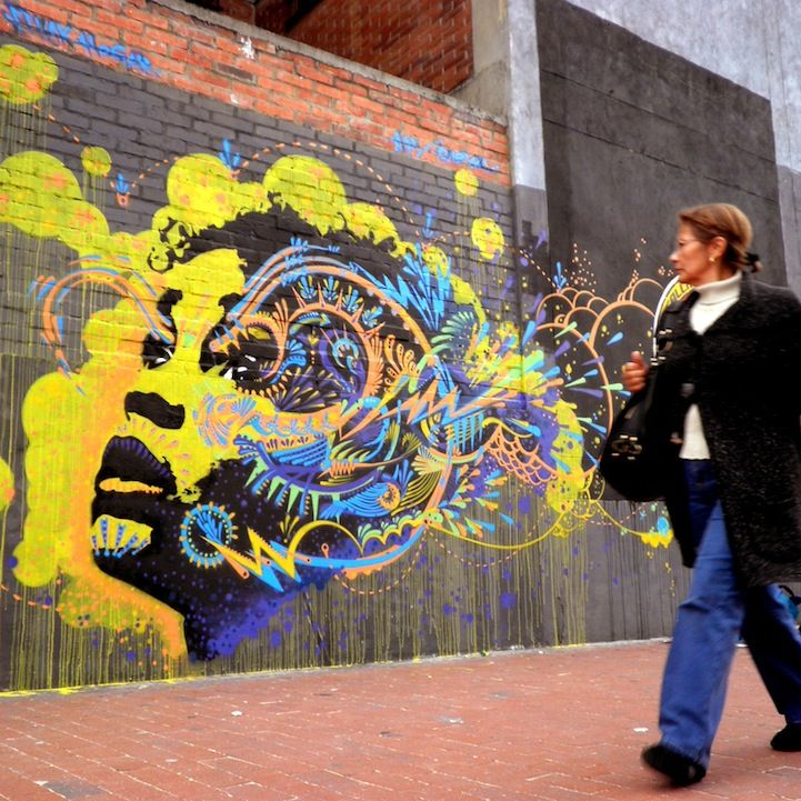 Street Art: Mind Explosion - My Modern Metropolis