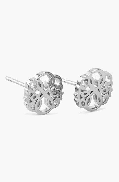 Women's Alex and Ani 'Symbolic - Path of Life' Stud Earrings - Silver