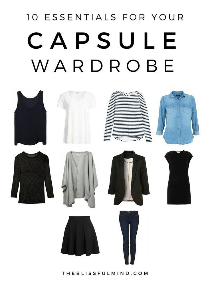 Super Les 25 meilleures idées de la catégorie Garde robe minimaliste sur  AT27