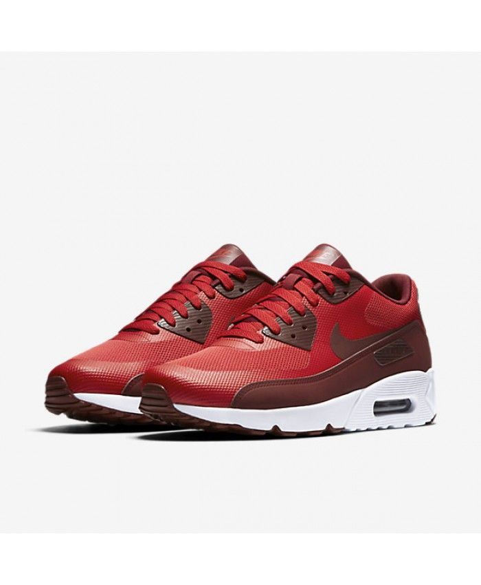 newest collection fcefd 5053e Nike Air Max 90 Ultra 2.0 Essential Mens University Red Team Red Mens  Trainers Sale UK