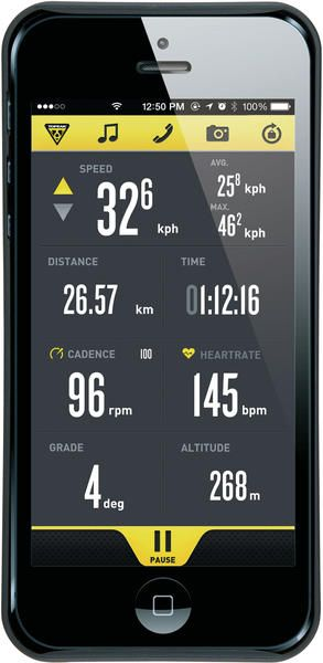 Topeak RideCase w/Mount (for iPhone 5/5S) - Trek Bicycle Superstore