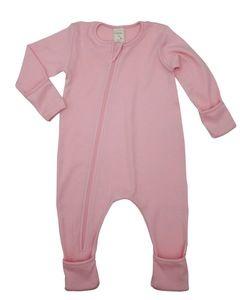 Baby Schlafoverall rosa - Lana naturalwear