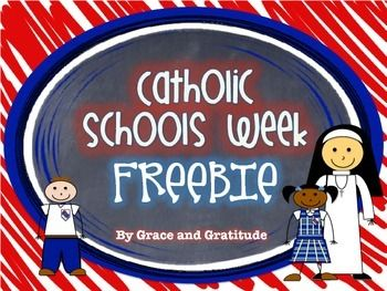 Catholic Schools Week Freebie