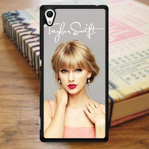 Taylor Swift Signature Cover Album Music Singer 1989 Sony Experia Z4 Case
