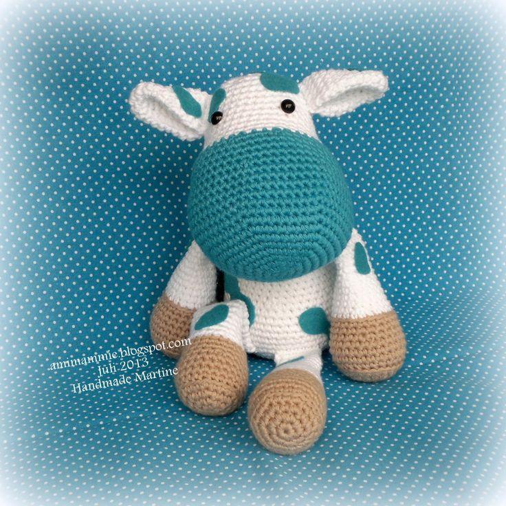 Amimammie: Stiertje BOE! gratis haak patroon  Voor deze miniknuffeltjes hebben wij maar liefst 69 kleurtjes minibolletjes katoen http://bloemendalwol.nl/scheepjeswol/498-scheepjeswol-catona-25.html