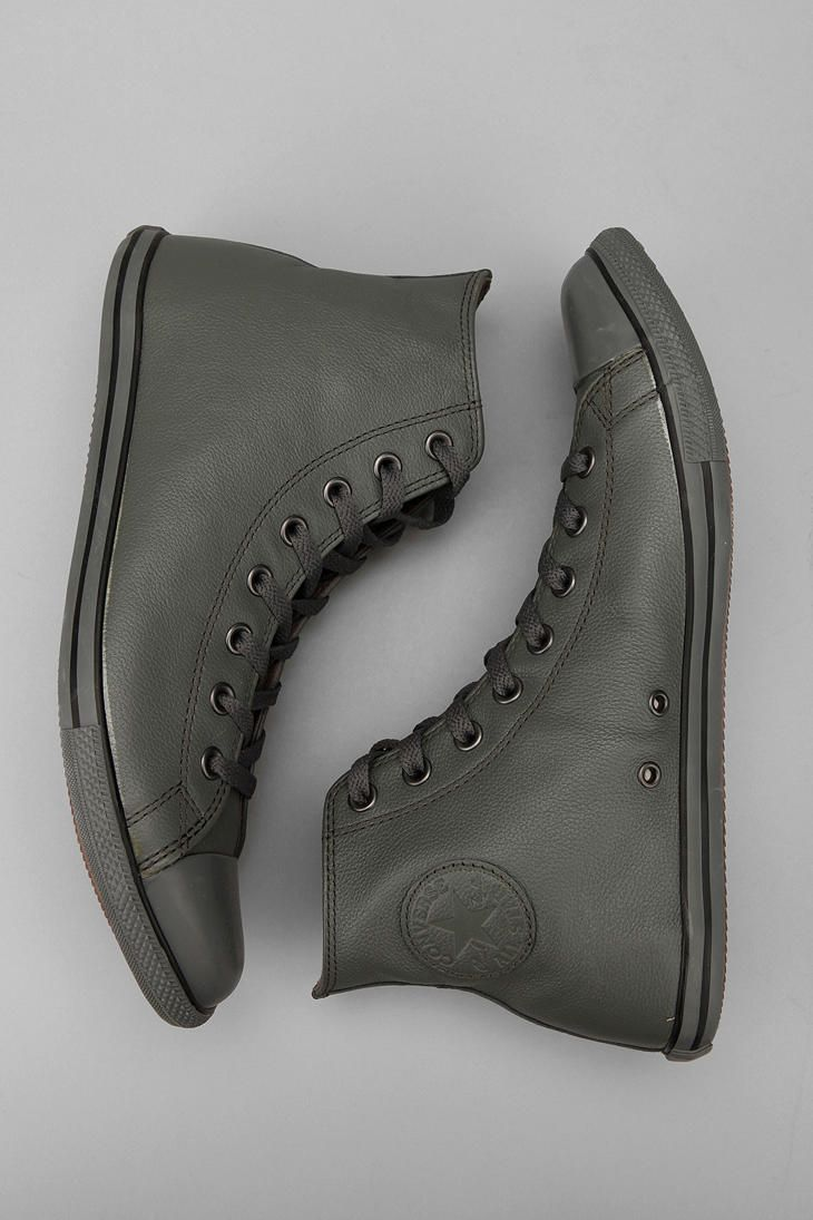 Converse Chuck Taylor All Star Slim Leather Hi Sneaker #sneakersconverse