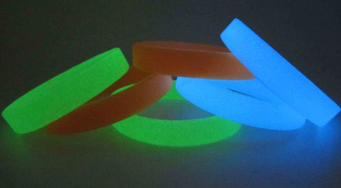 Glow in dark #party supplies for nigh events glow rubber #wristbands