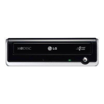LG GE24NU Super Multi - Disk drive - DVD±RW (±R DL) / DVD-RAM - 24x/24x/12x - USB 2.0 - external - black