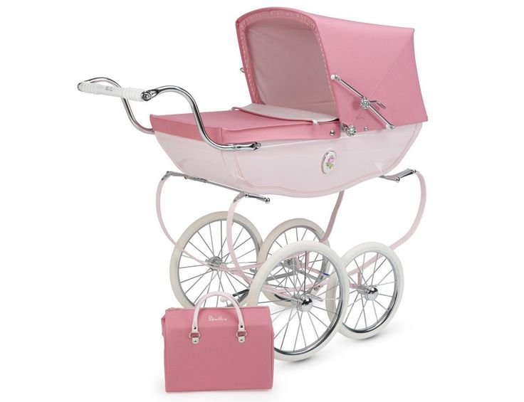 Silver Cross Chatsworth Doll Pram Rose   The hand made Chatsworth Dolls Pram is a beautiful gift for any little girl and her dolls. It Read  more http://shopkids.ca/silver-cross-chatsworth-doll-pram-rose/