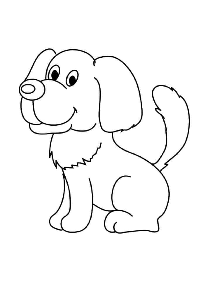 Cartoon Dog Coloring Pages Puppy Coloring Pages Animal Coloring Pages Dog Coloring Page
