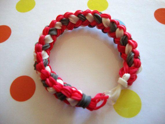 New Pattern  Double Braid Rainbow Loom by GiftzandGreetingz, $3.25