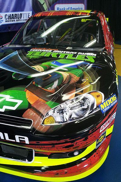 Jeff Gordon - Ninja Turtles Paint Job. we need this diecast the boys would love it!