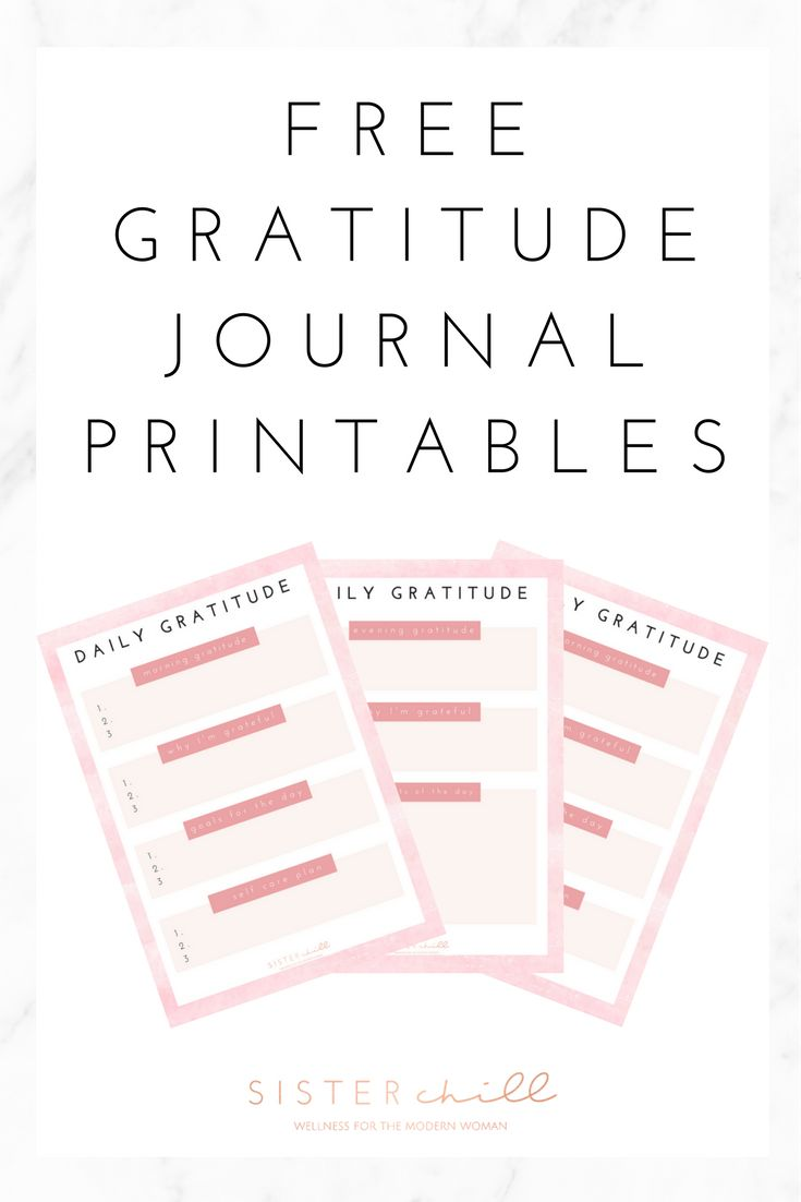 This is a picture of Clever Gratitude Journal Printable