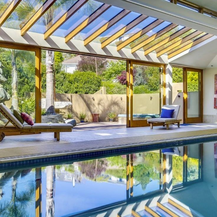 Large Luxury House Plans With Indoor Pool: 25+ Best Ideas About Pool Enclosures On Pinterest