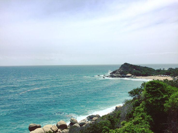 Playa Cañaveral  Parque Nacional Natural Tayrona, Parque Tayrona, El Tayrona, Vacaciones, Vacations, Playa, Beach, Mar, Sea, Mar Caribe, Caribbean Sea, Naturaleza, Nature, SantaMarta, Magdalena, Colombia