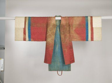 Bride's Robe (Hwalot) Medium: Embroidered silk panels, gold thread, paper lining Dates: 19th century Dynasty: Joseon Dynasty Dimensions: 16 ...