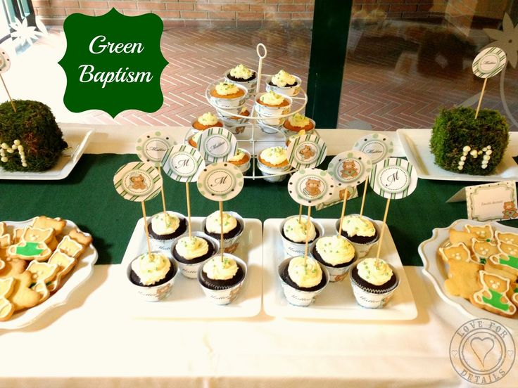 BATTESIMO IN VERDE - A GREEN BAPTISM by Love4Details