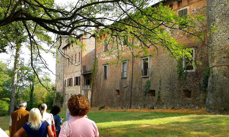 Il fossato di Castelnovo  #castelli #piacenza #emiliaromagna #valtidone #turismo
