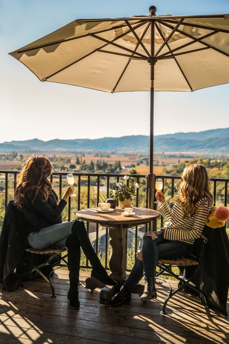 Bring sweaters and boots for the colder months! #VisitNapaValley