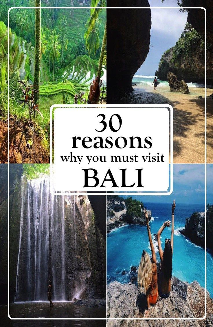 30 reasons to visit Bali
