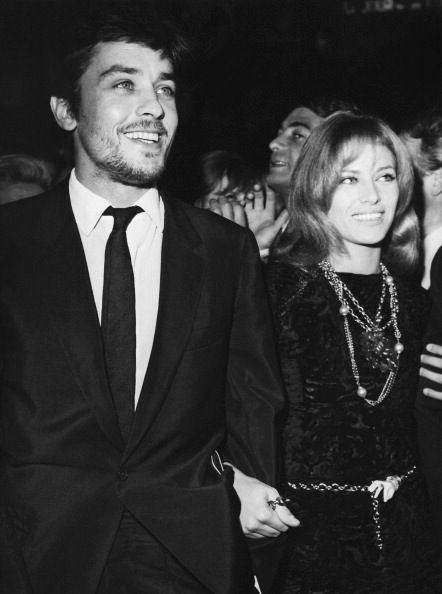 Alain with Nathalie, 1967.