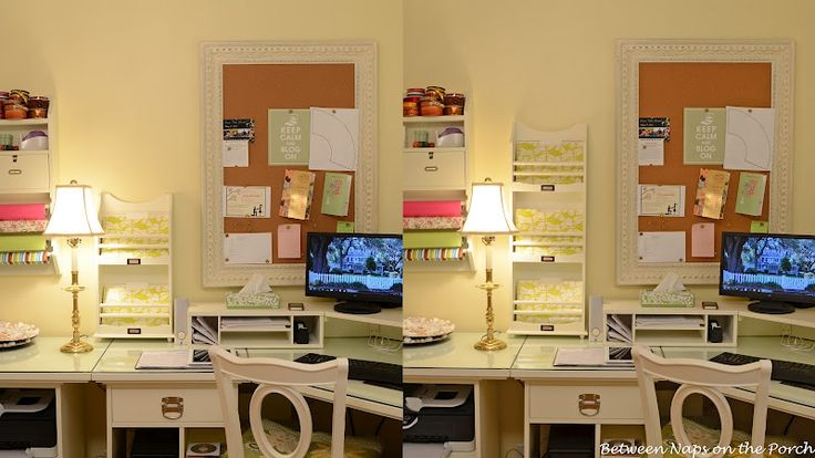 38 best decorating home office images on pinterest for Best home office organization products