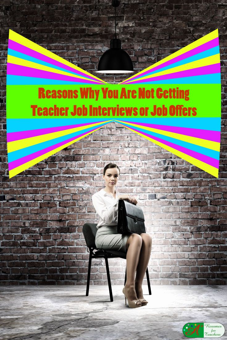 Reasons Why You Are Not Getting Job Interviews or…