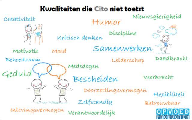 Juf-Stuff: Wat de CITO niet toetst.